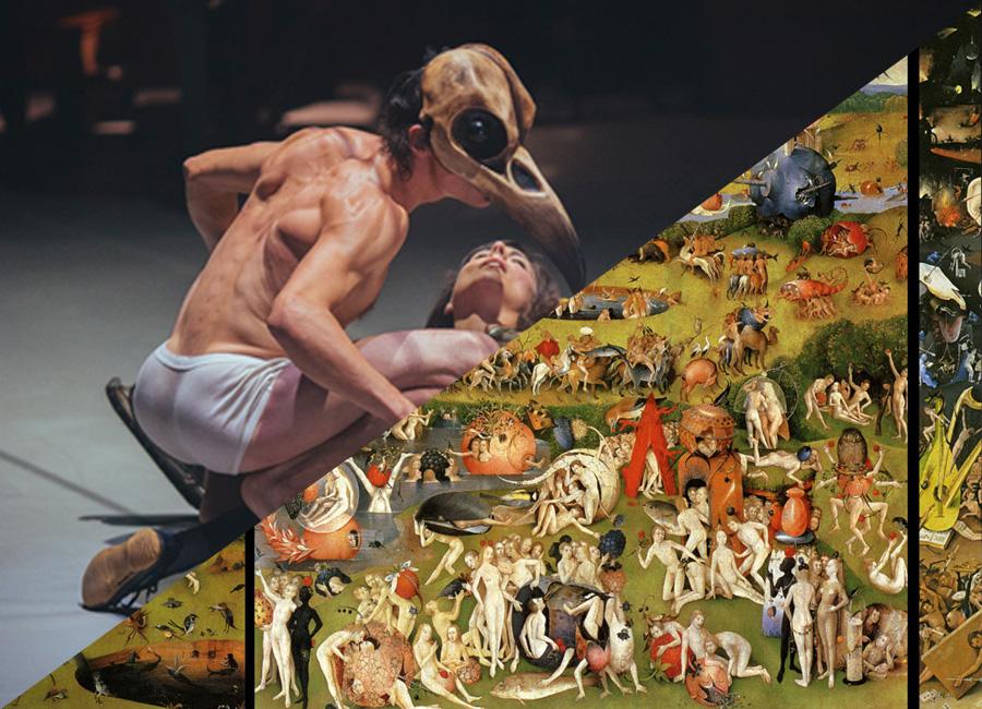 Sous la toile de Jheronimus  : Le jardin des délices